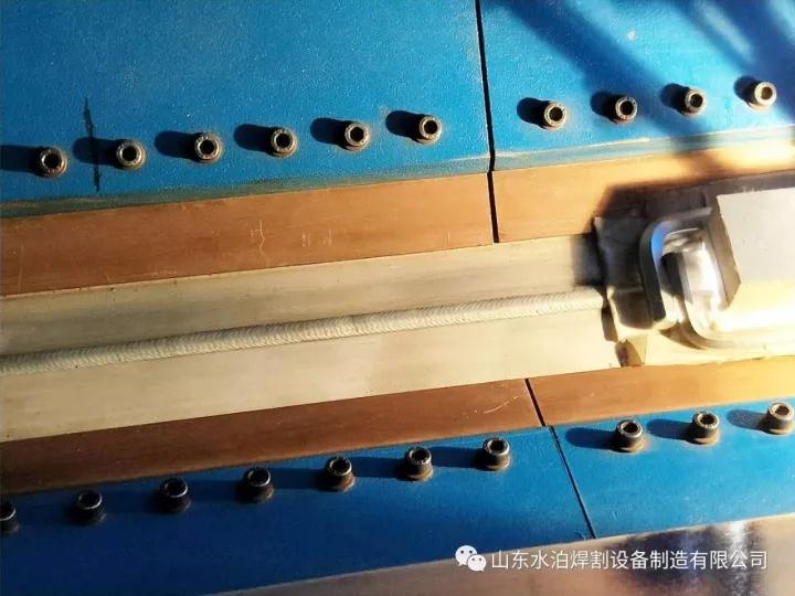 热丝TIG液压拼板机